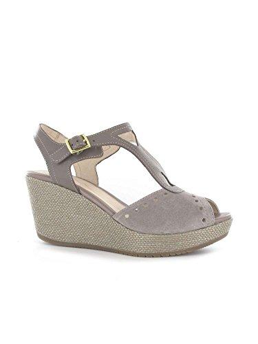 Stonefly 108311 Sandalo zeppa Donna Taupe 37