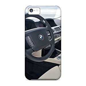 LUW1821lXkW Snap On Case Cover Skin For Iphone 5c(bmw 7 Series Hydrogen Dashboard)