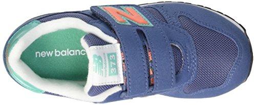 New Balance Nbkv373tcp, Zapatillas de Gimnasia Unisex Niños Blu (Blue Teal)