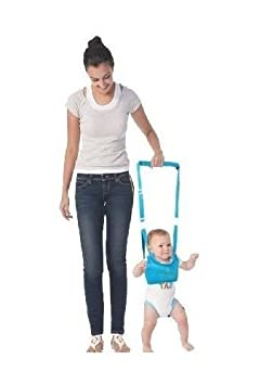 King's Deal (Tm) Handheld Baby Walker Toddler Walking Helper Kid Safe Walking Protective Belt Child Harnesses Learning Assistant (blue) king' s deal can00030-1-2