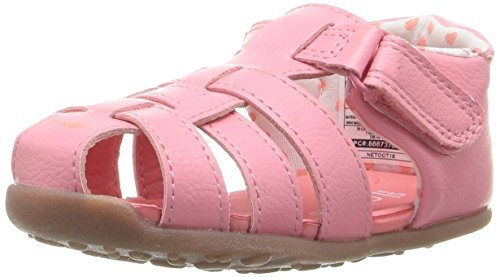 Stage 3 Sandal - Carter's Every Step Stage 3 Girl's and Boy's Walking Shoe, Addison, Pink, 4.5 M US Toddler