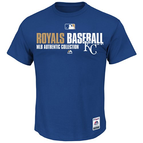 - Adult Small Kansas City Royals Major League Baseball Licensed MLB Authentic Collection Team Favorite Tee