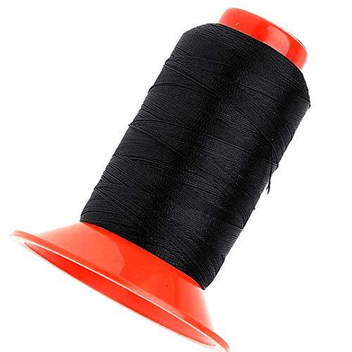 Beito Un Rollo de Nylon Costura de Cuerda 500 Metros de Cuerda Fuerte de Nylon Hilado ligado de Coser para la Carpa Mochila Negro: Amazon.es: Hogar