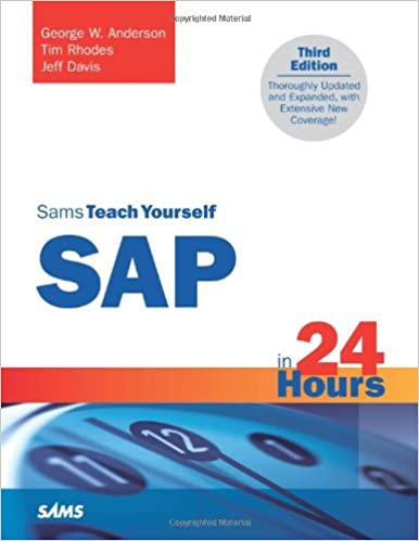 Download bøger som pdfs Sams Teach Yourself SAP in 24 Hours (3rd Edition) ePub by George W. Anderson