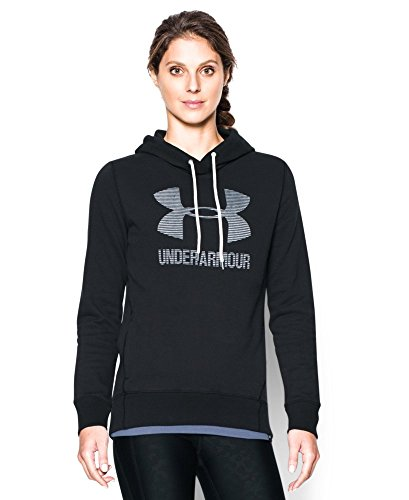 Under Armour Women's Sportstyle Favorite Fleece Hoodie, Black (001), X-Large