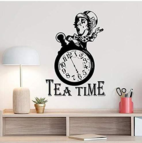 Wall Stickerwall Sticker Alice in Wonderland Mad Hatter Quote Poster Sign Kitchen Decoration for Room Art Design Poster 42 -