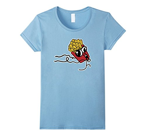 Womens French Fries Shirt Small Baby (Baby French Fries Costume)