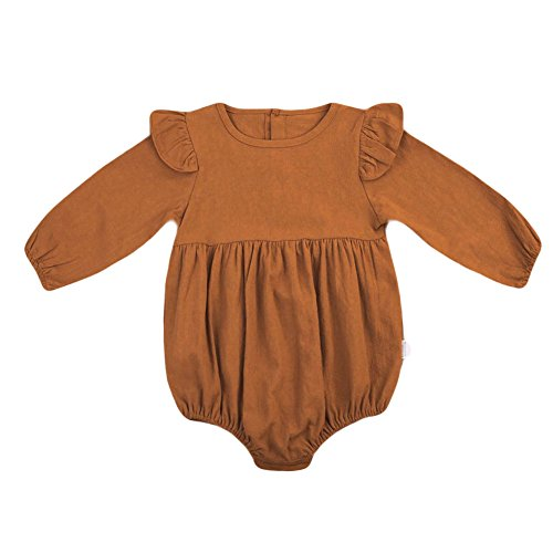 BELS Infant Baby Girls Romper Twins Butterfly Sleeve Ruffles Onesie Bodysuit Outfits