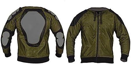 mati/ère Polaire Protection 100/% Kevlar certifi/ée CE Sweat-Shirt de Moto /à Capuche Noir 3XL