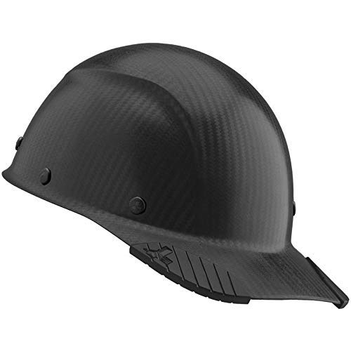 DAX Cap Style Safety Hard Hat, New & Improved 6 Pt. Adjustable Ratchet Suspension, Personal Protective Equipment/PPE for Construction, Home Improvement, Diy Projects (Matte Real Carbon Fiber)