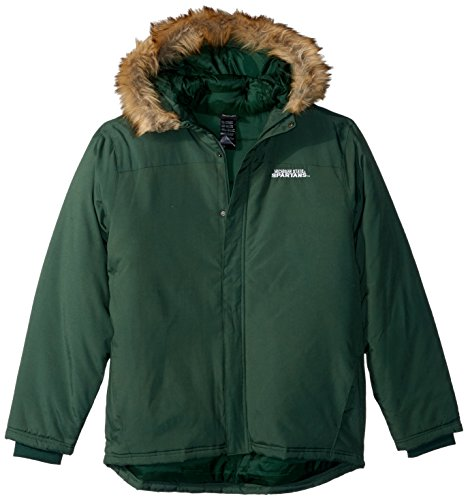 Youth Heavyweight Parka Jacket - NCAA by Outerstuff NCAA Michigan State Spartans Men's