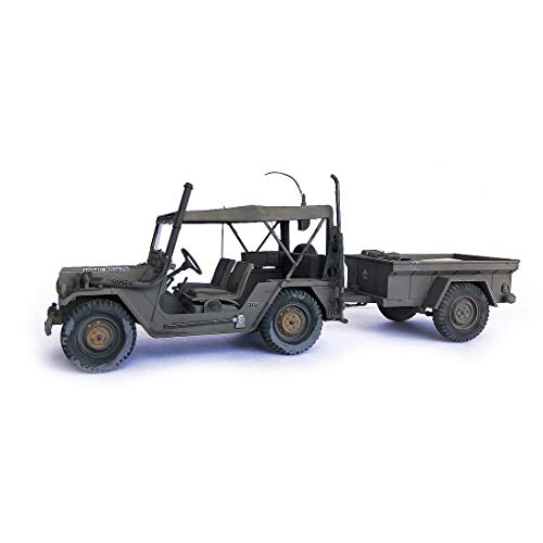 1/35,US M151 A2 Jeep and Trailer,Military car,Military for sale  Delivered anywhere in USA