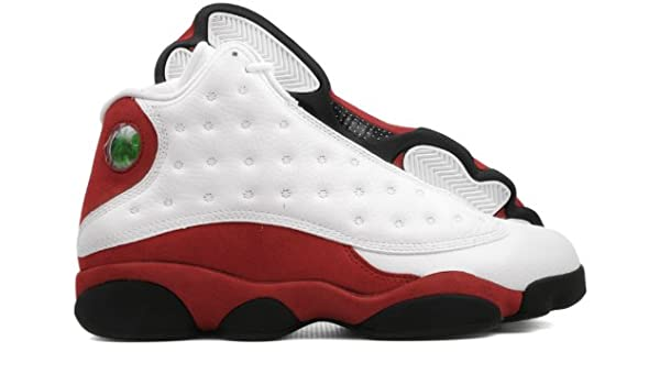 new arrival a205b 81a54 Amazon.com   Nike Mens Air Jordan 13 Retro Cherry Leather Basketball Shoes    Basketball