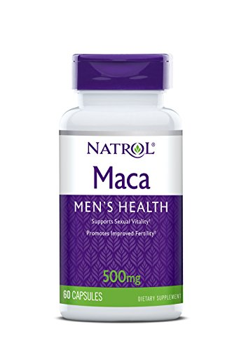 Natrol Maca 500mg Capsules, 60 Count For Sale