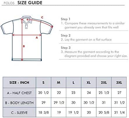 417fHZVJztL. AC M MAELREG Men's Mercerized Cotton Short Sleeve Pima Polo Shirts Casual Collared Shirts    Product Description
