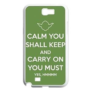Samsung Galaxy N2 7100 Cell Phone Case White Star Wars Yoda 001 SYj_938141