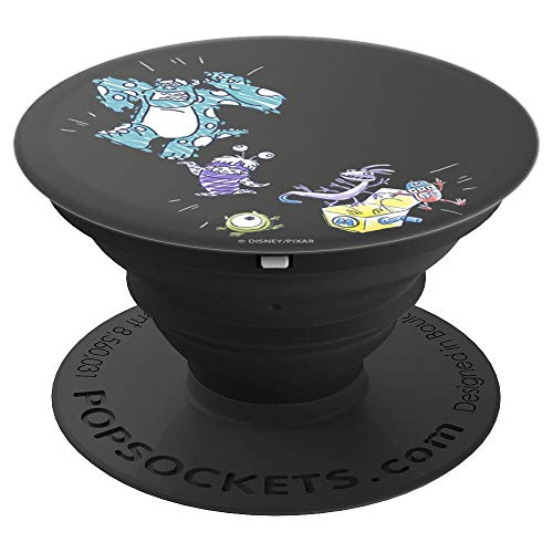Disney Pixar Monsters Inc Sulley Mike Boo Randall Fungus POP - PopSockets Grip and Stand for Phones and Tablets