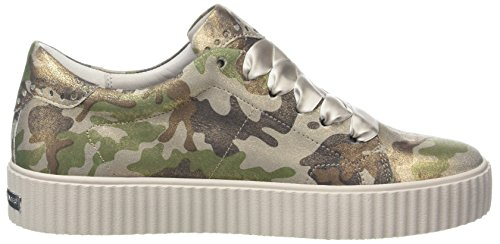 Down Schmenger Mujer 383 Zapatillas Creme taupe Und Para Sohle Multicolor Kennel ZEWqR4w