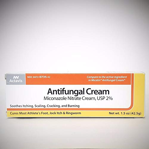 Actavis / Alpharma Miconazole Nitrate 2% Cream, 1.5 Oz - Packaging May Vary  - Miconazole Nitrate 2 Cream