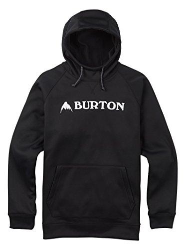 Burton Men's Crown Bonded Pullover Hoodie, True Black W18, ()