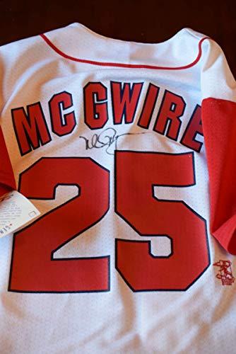 (MARK MCGWIRE JSA Loa Autograph Cardinals Jersey Hand Signed)