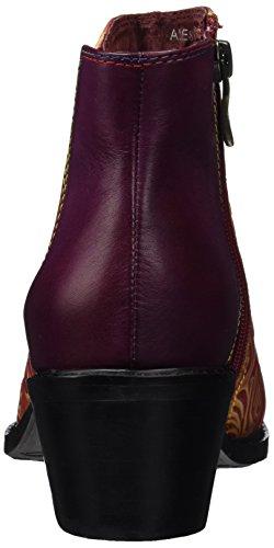 Laura Vita Ladies Alessandra 15 Chelsea Boots Rot (rouge)
