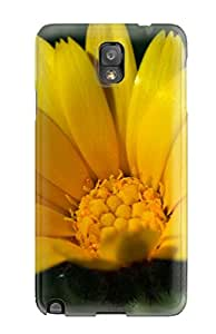 Galaxy Yellow Flowers Awesome High Quality Galaxy Note 3 Case Skin