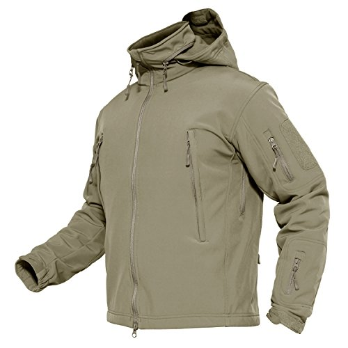 tswear Waterproof Mountain Fleece Jacket Windproof Ski Hiking Jacket ()