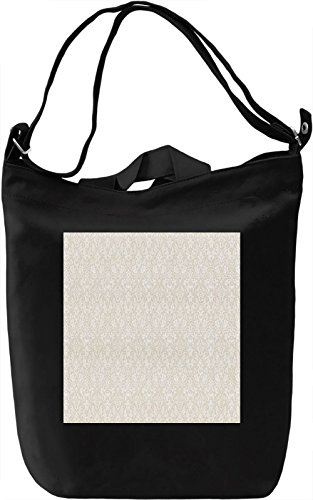 Vintage Print Borsa Giornaliera Canvas Canvas Day Bag| 100% Premium Cotton Canvas| DTG Printing|