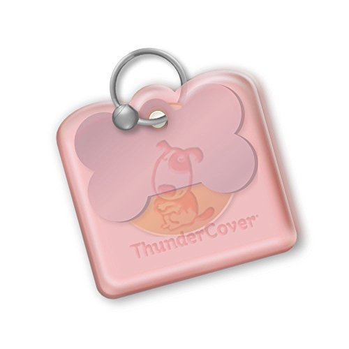 (ThunderCover Dog Tag Silencer - Red)