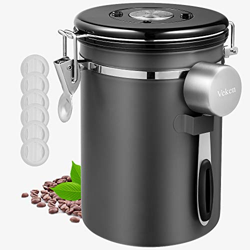 Veken Canister Airtight Stainless Container