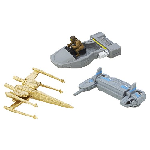 Star Wars: The Force Awakens Micro Machines 3 Pack Resistance Base