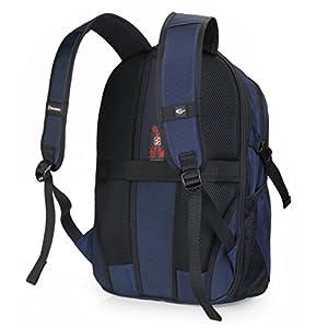 Silmarils 13 Inch to 17.3 Inch TSA Friendly ScanSmart Laptop Backpack Waterproof (Black/Blue)(Blue)