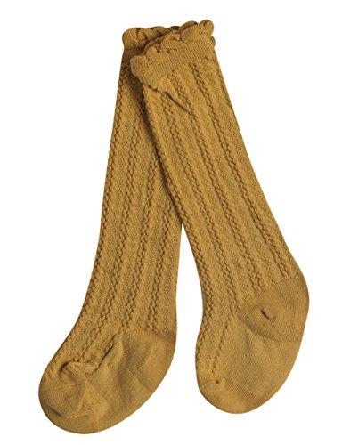 Alva Edison Bowknot Knee High Cotton Socks For Baby Girls,Toddlers/&Child,School dress