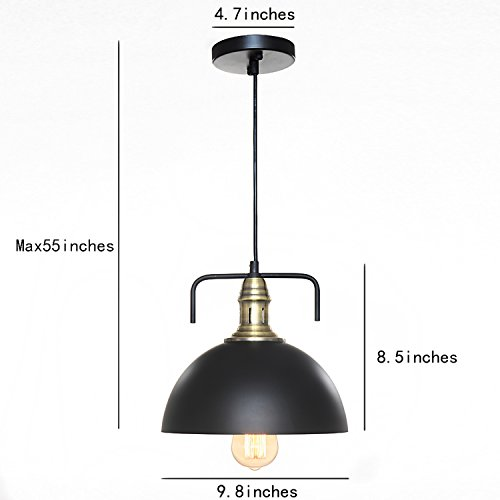 Sparksor Industrial Nautical Barn Dome Pendant Light