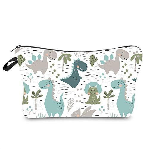 Jom Tokoy Hakuna Matata Makeup Bag Travel Case Cosmetic Bag (Dinosaur) ()