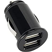 3.1Amp Rapid Car Charger Travel DC Socket Power Adapter Ultra Compact Black for Alltel iPhone 5C - Alltel iPhone 5S - AT&T iPhone 5C - AT&T iPhone 5S - AT&T iPhone 6
