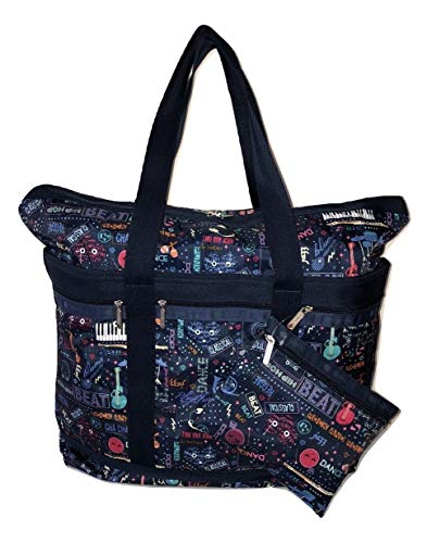 LeSportsac Little Orchestra Travel Tote + Matching Cosmetic Bag ()