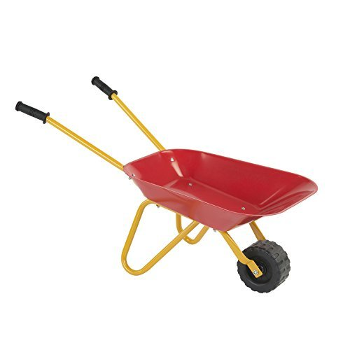 PlaSmart Little Workers Wheelbarrow Outdoor Construction Toy (Ages 3 and up) by PlaSmart