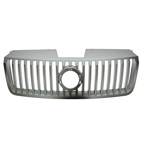Argent Gray Replacement Front Grill Grille for 06-09 Mercury Milan ()