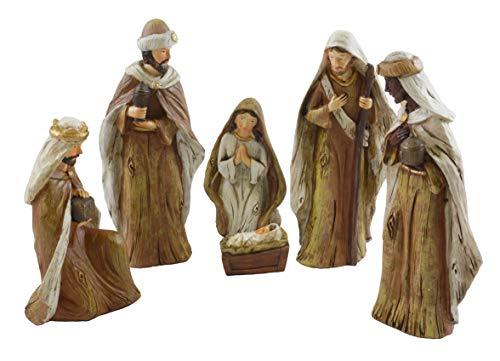 (Hanna's Handiworks Holy Family Woodland Nativity Scene)