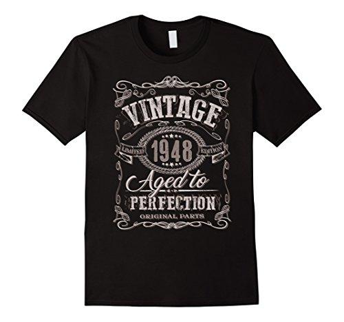 70th Birthday gift shirt Vintage dude 1948 70 year old (Old Man Birthday)