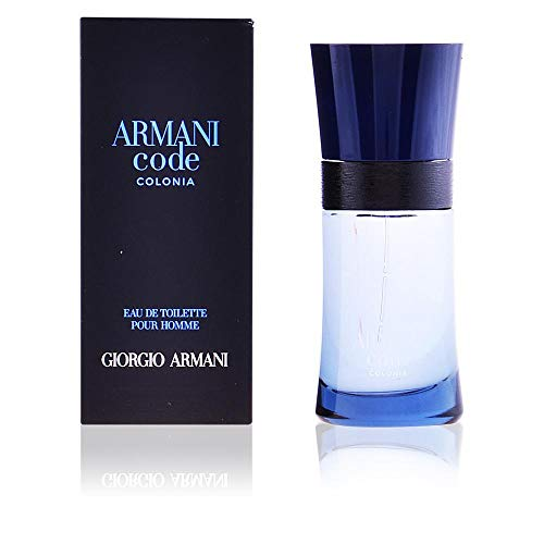 Giorgio Armani Code Colonia Eau de Toilette Spray for Men, 2.5 Ounce (Armani Code For Men Best Price)