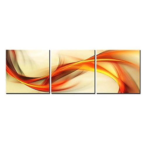 Orange Canvas Wall Art: Amazon.com