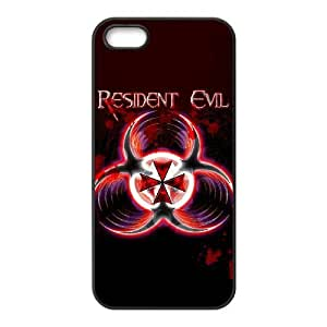 Personalized Durable Cases iPhone 5, 5S Cell Phone Case Black Resident Evil Rfavw Protection Cover