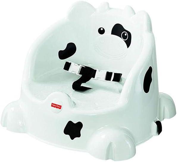 Fisher-Price-0746775321185 Disney Alzador de Asiento, Color Blanco, Negro (Mattel BGF79)