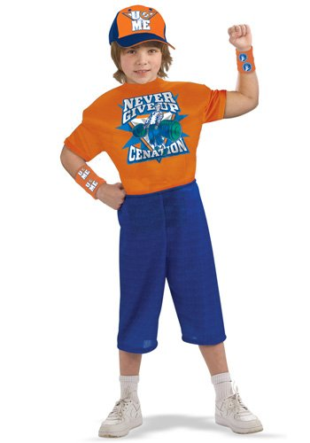 World Wrestling Entertainment Deluxe Child's Muscle Chest Costume, John Cena Costume from Rubie's