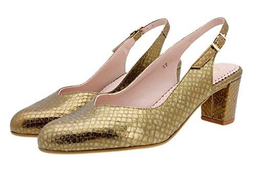 Confort Grabado Zapato Piesanto 180229 Salón Boalux Nude Plata OBwCqWpHf