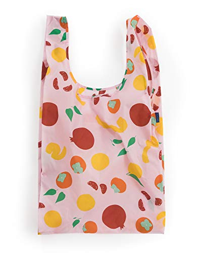 BAGGU Large Reusable Shopping Bag (One Size, Autumn Fruit)