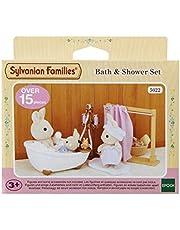 Sylvanian families 5022 5022 bad och duschset, docktillbehör, multi